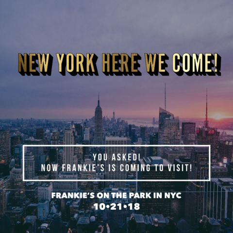 Franke's new York pop up!