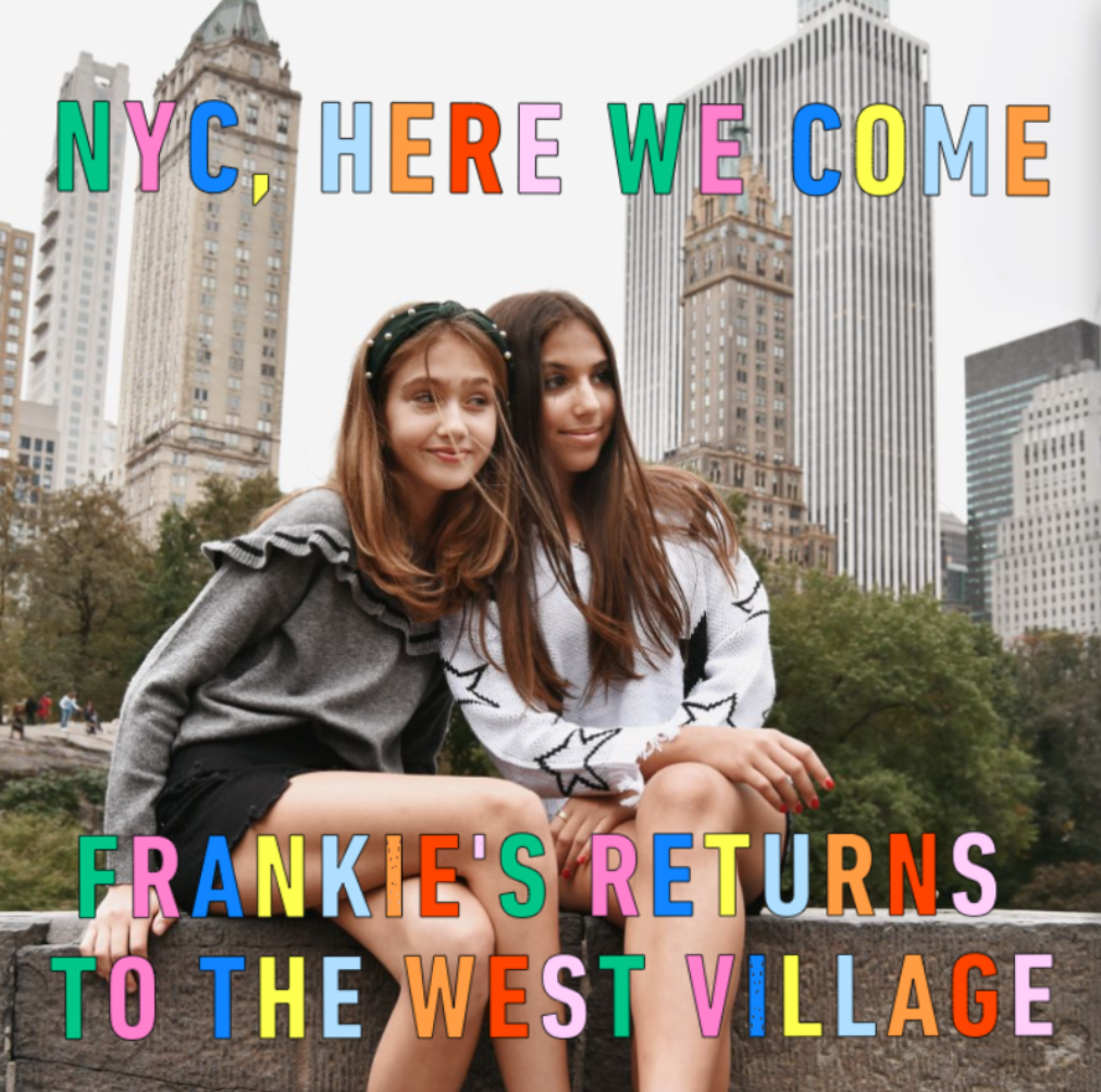 Frankie's New York City West Village Pop-Up!