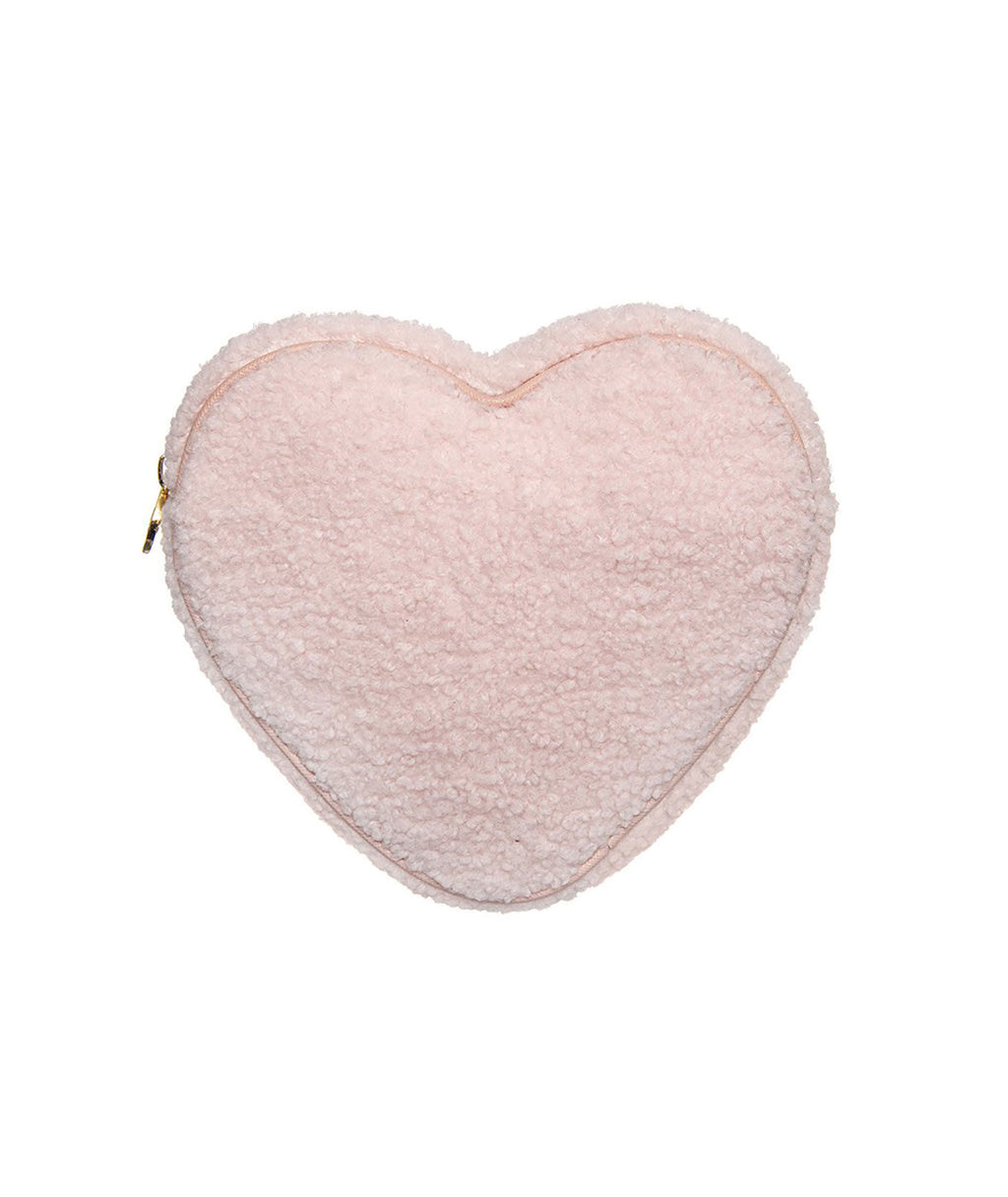 Stoney Clover Rose Cozy Heart Pouch