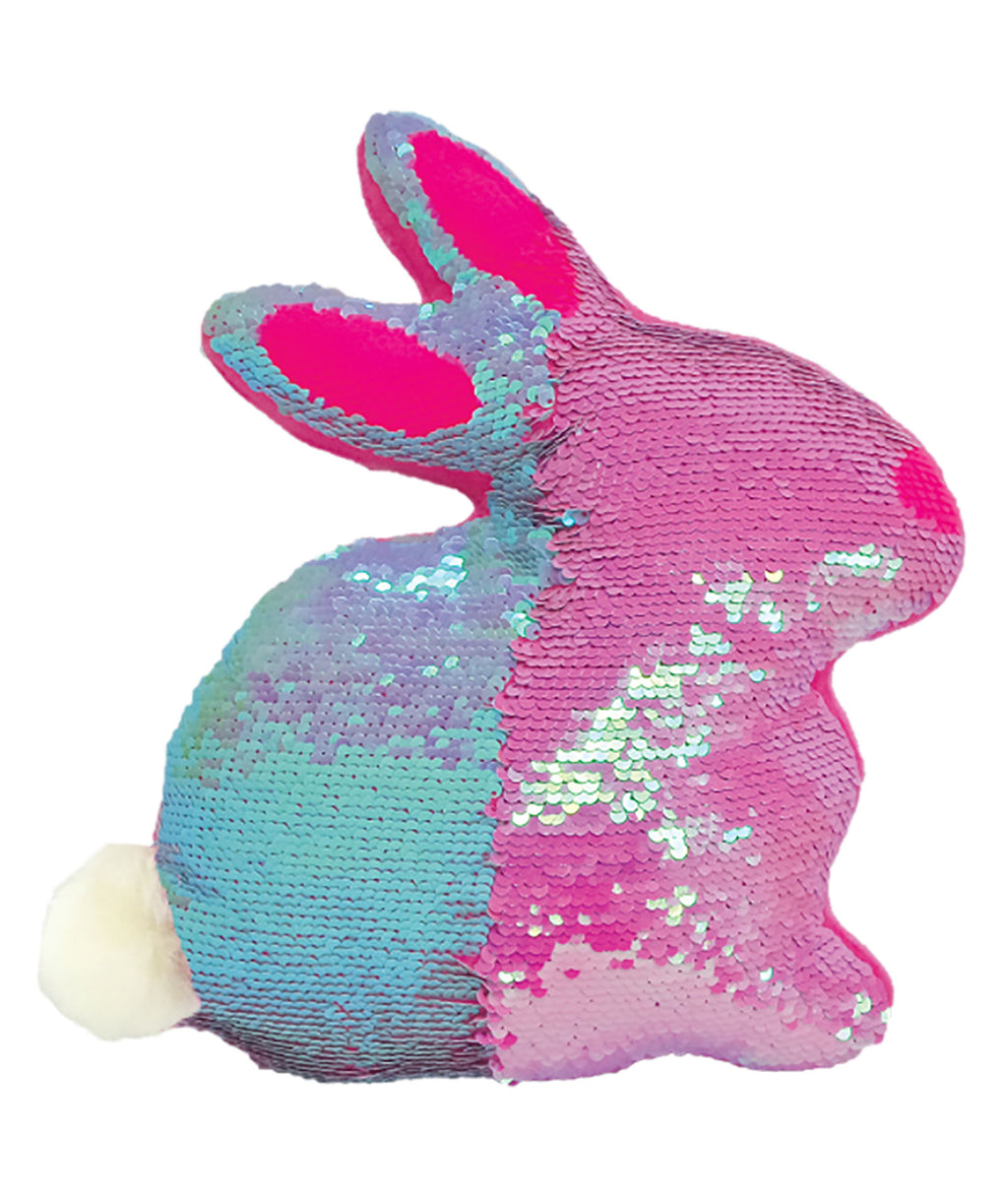 iScream Bunny Sequin Pillow