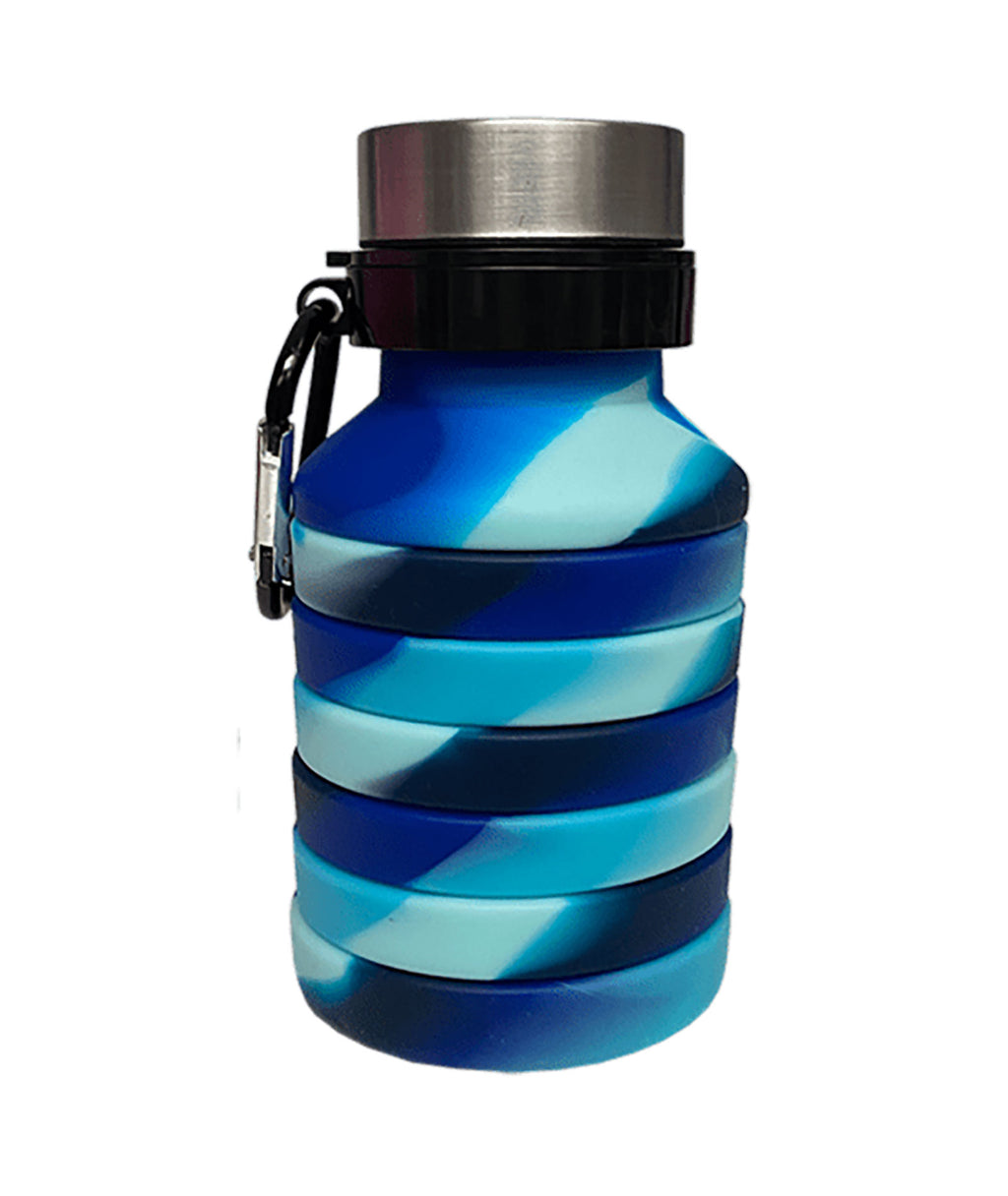 iScream Ocean Waves Collapsible Water Bottle