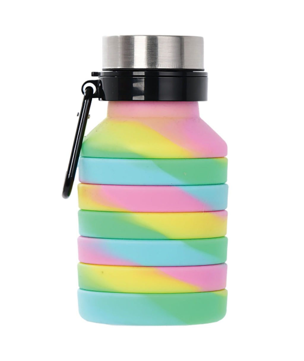 iScream Swirl Tie Dye Collapsible Water Bottle
