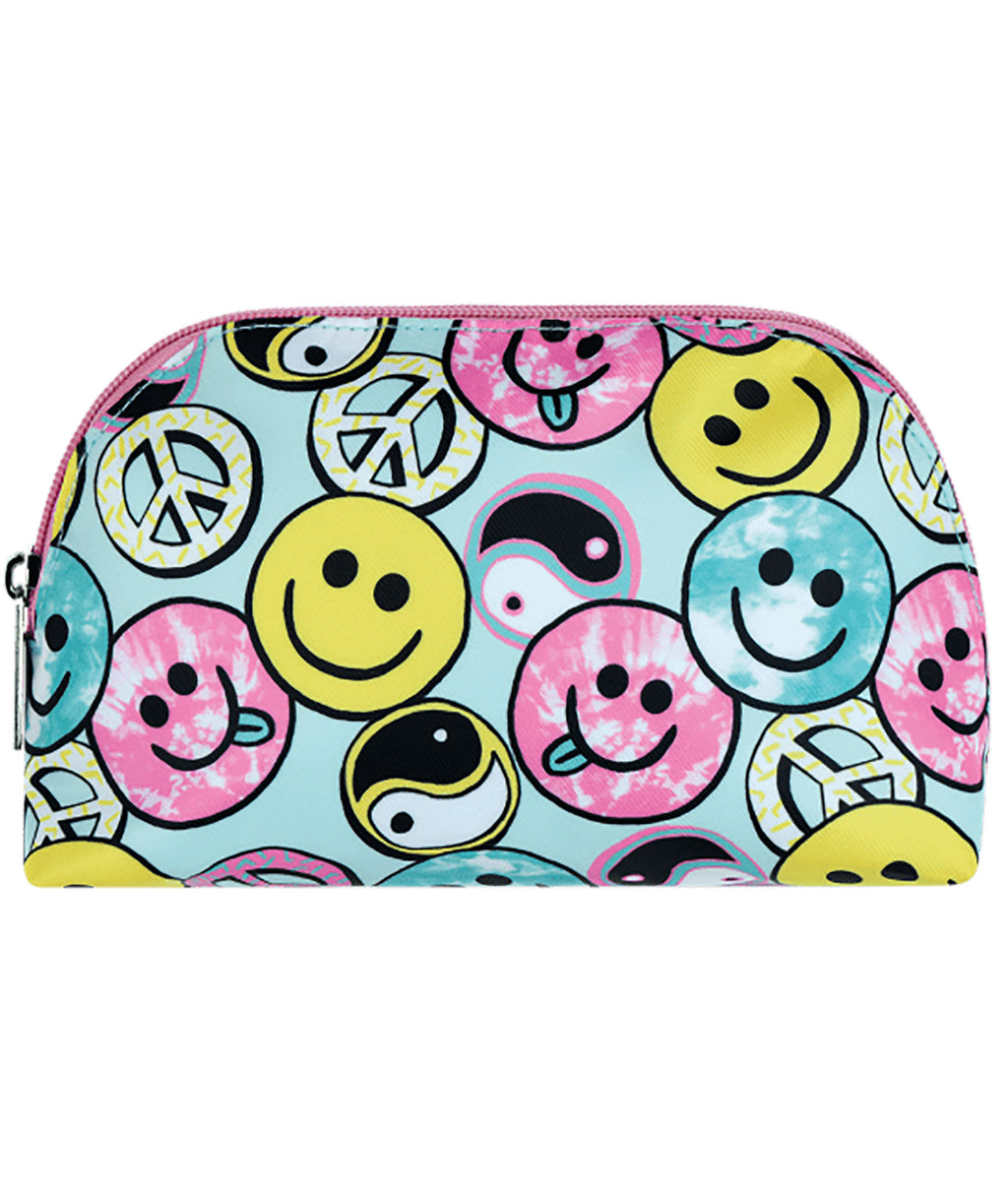 iScream Be All Smiles Oval Cosmetic Bag