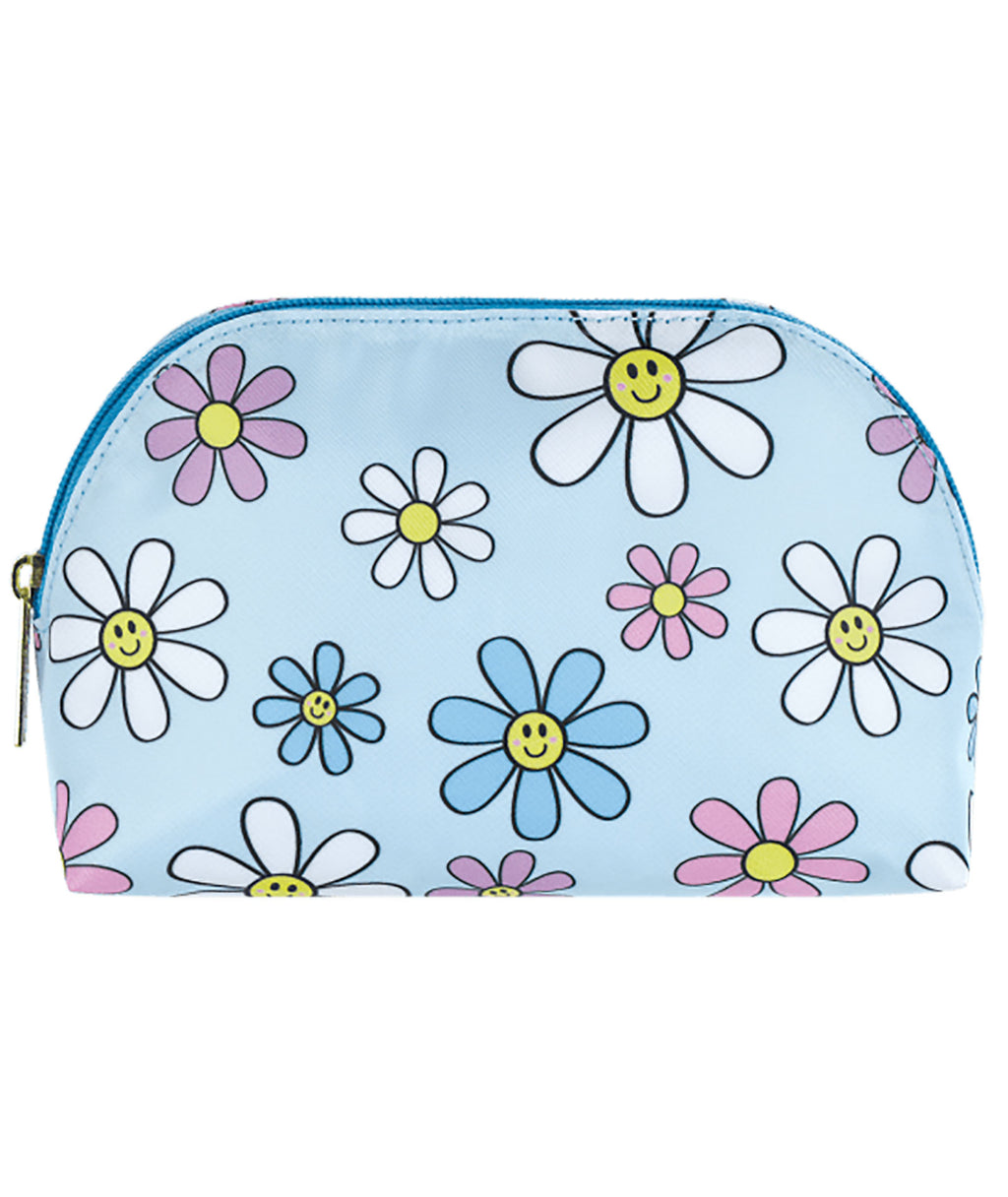 iScream Daisies Oval Cosmetic Bag