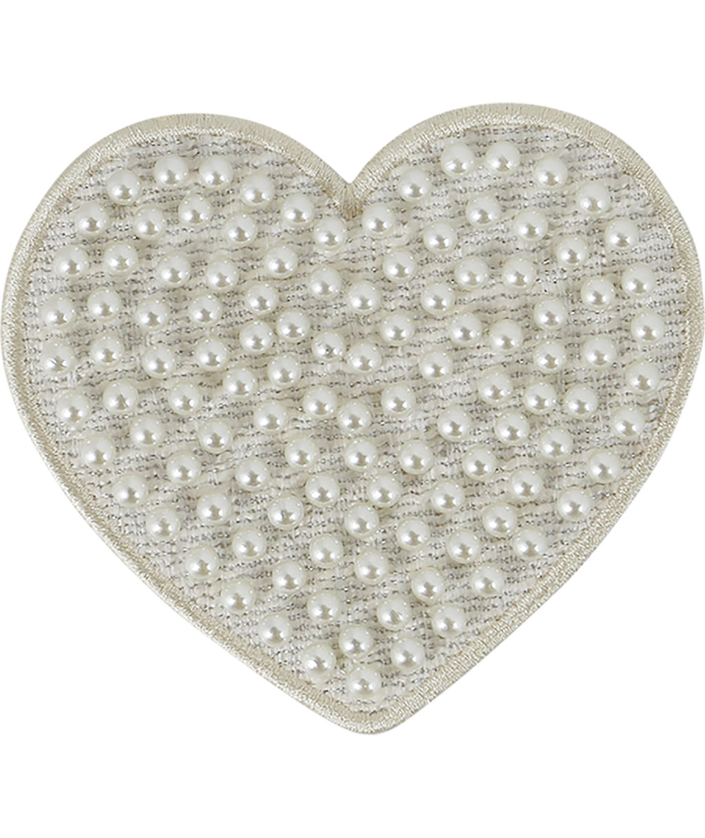 Stoney Clover Jumbo Cozy Pearl Heart Patch