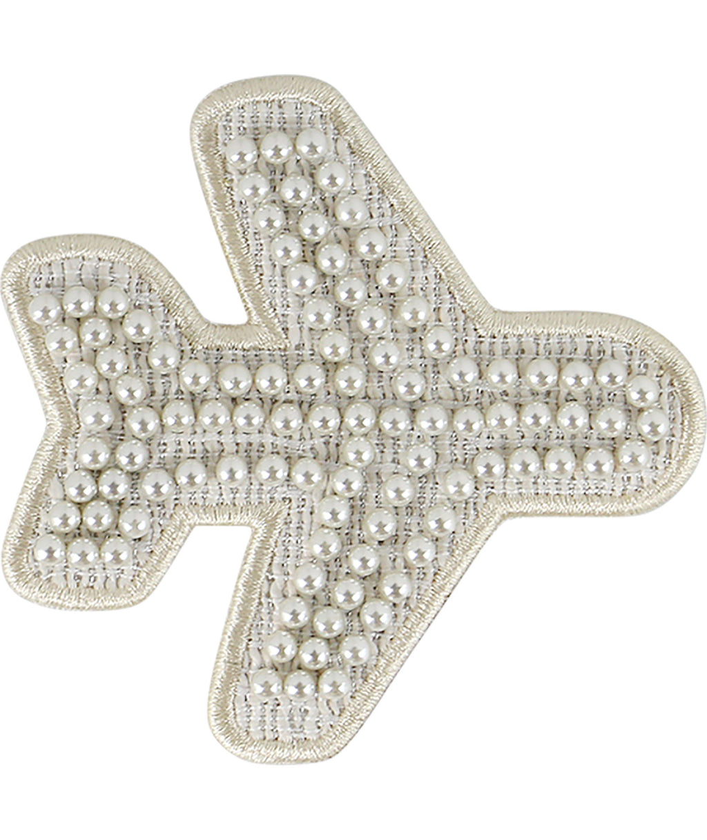 Stoney Clover Jumbo Cozy Pearl Airplane Patch
