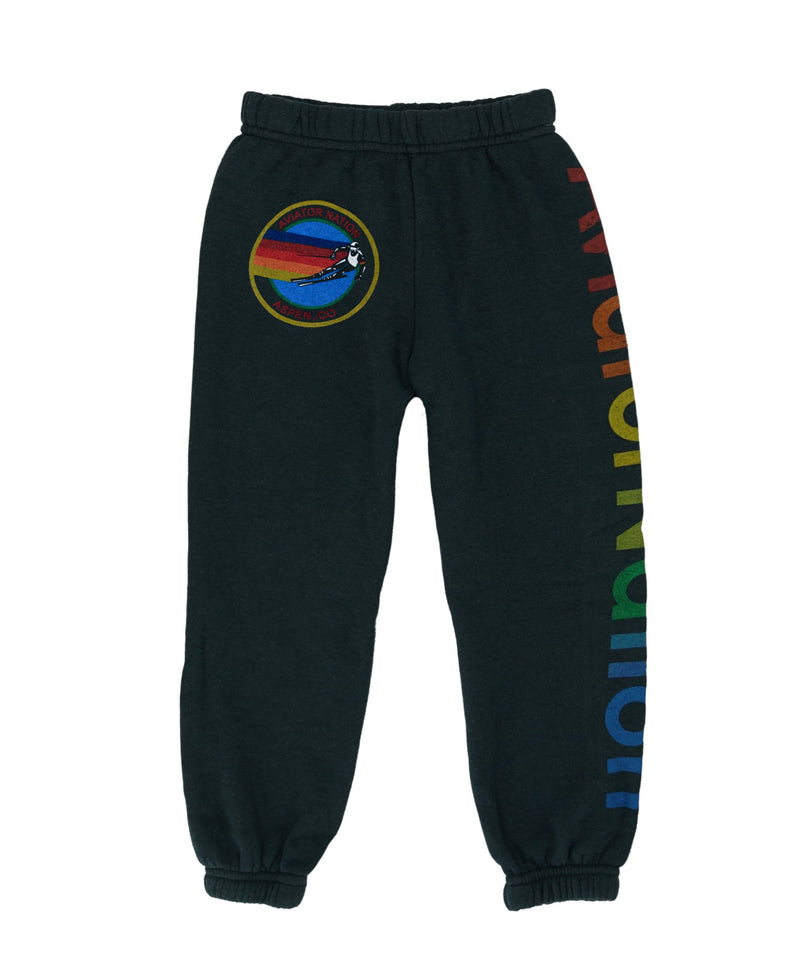 Aviator Nation Kids Charcoal Sweatpants