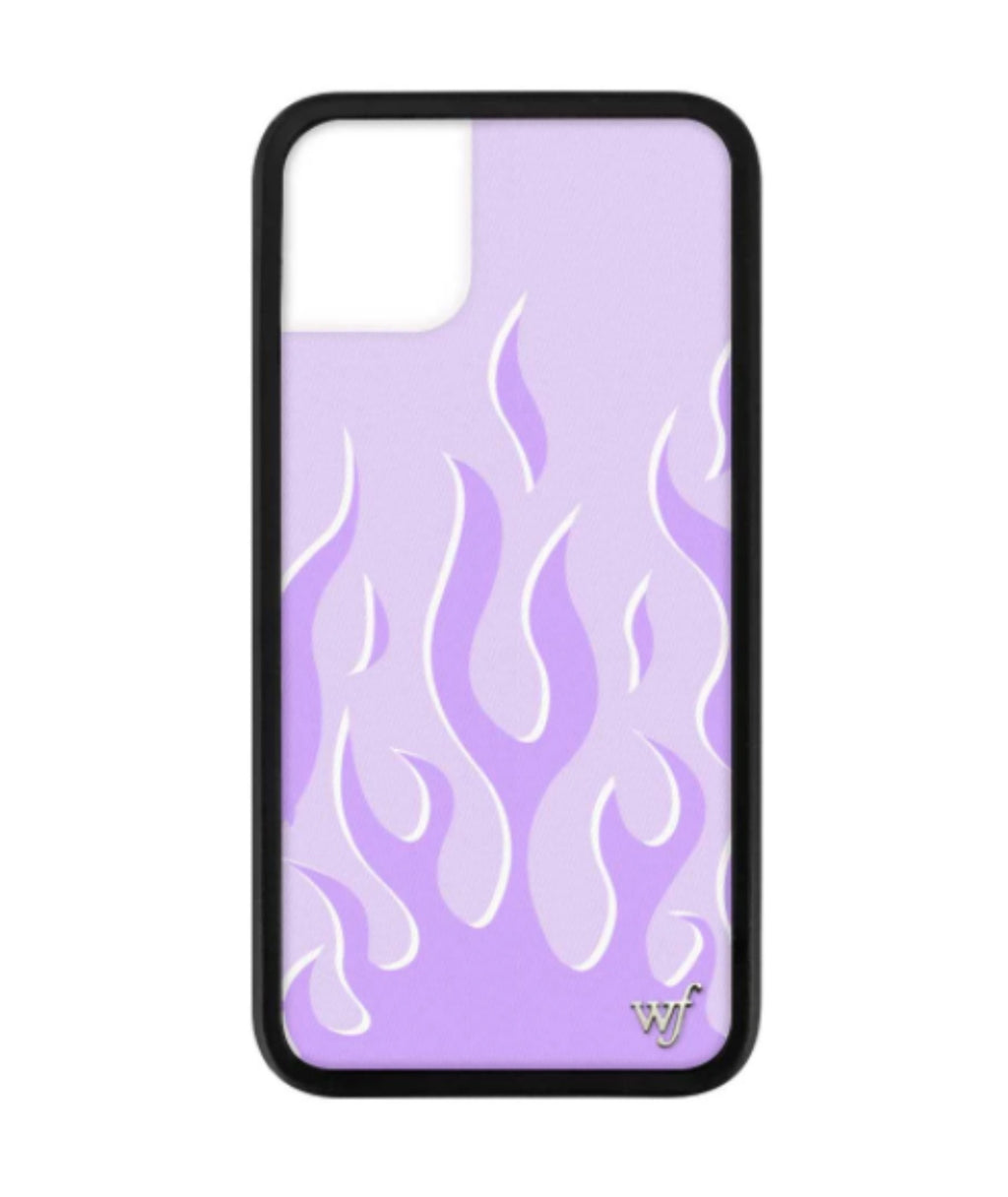 Wildflower Phone Case Lavender Flames