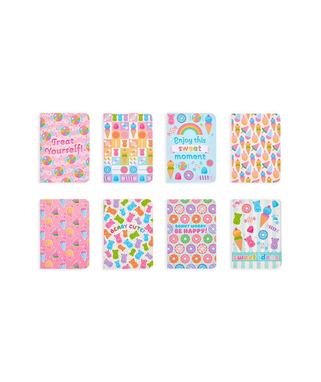 Mini Sugar Joy Journals - Set of 8