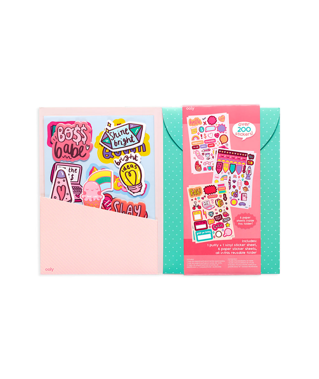 Sticker Stash - Girl Boss