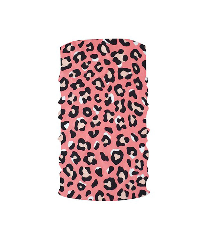 Fashionista J Pink Animal Print Gaiter