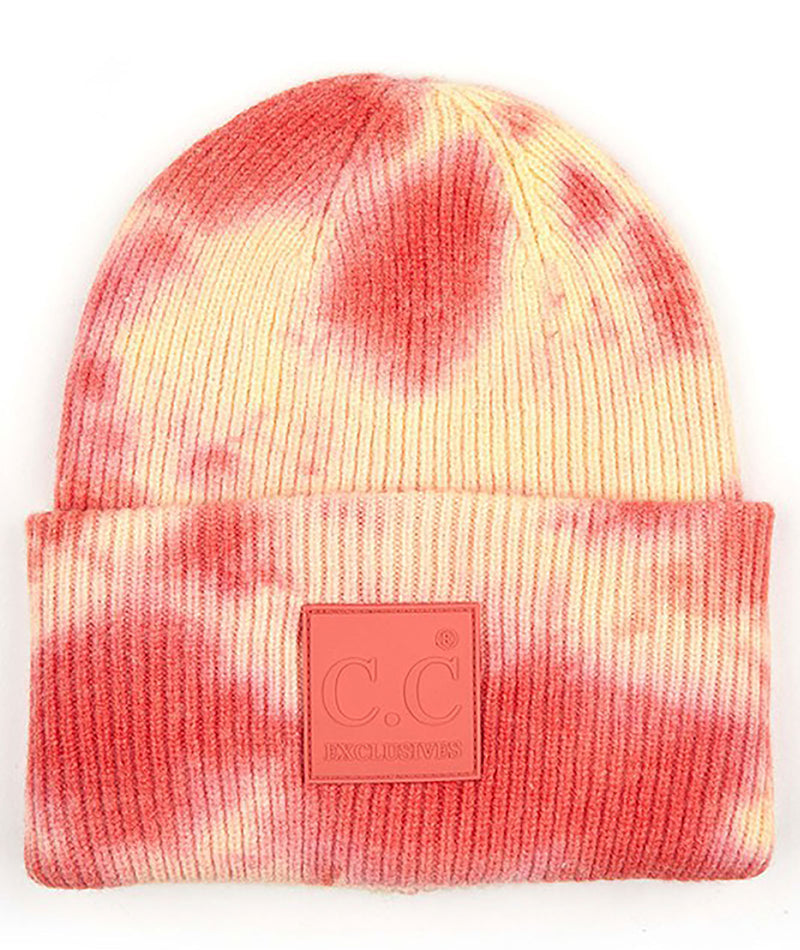 Fashionista J Tie-Dye Orange & Pink Hat