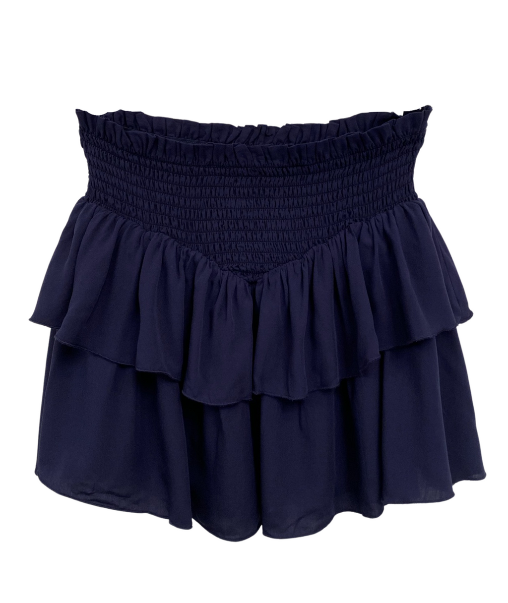 Katie J NYC Girls Brooke Navy Skirt