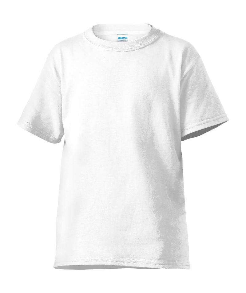 Gildan Adult Tee in White or Grey