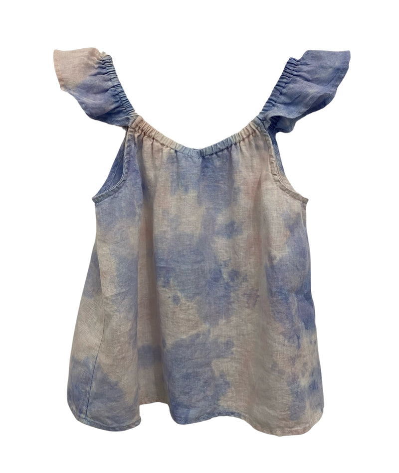 Bella Dahl Girls Galaxy Tie Dye Sleeveless Tank