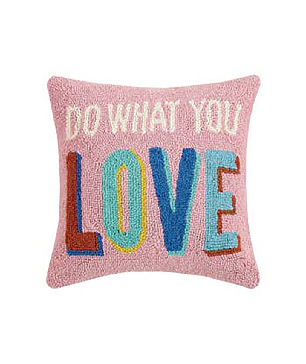 Do What You Love Hook Pillow