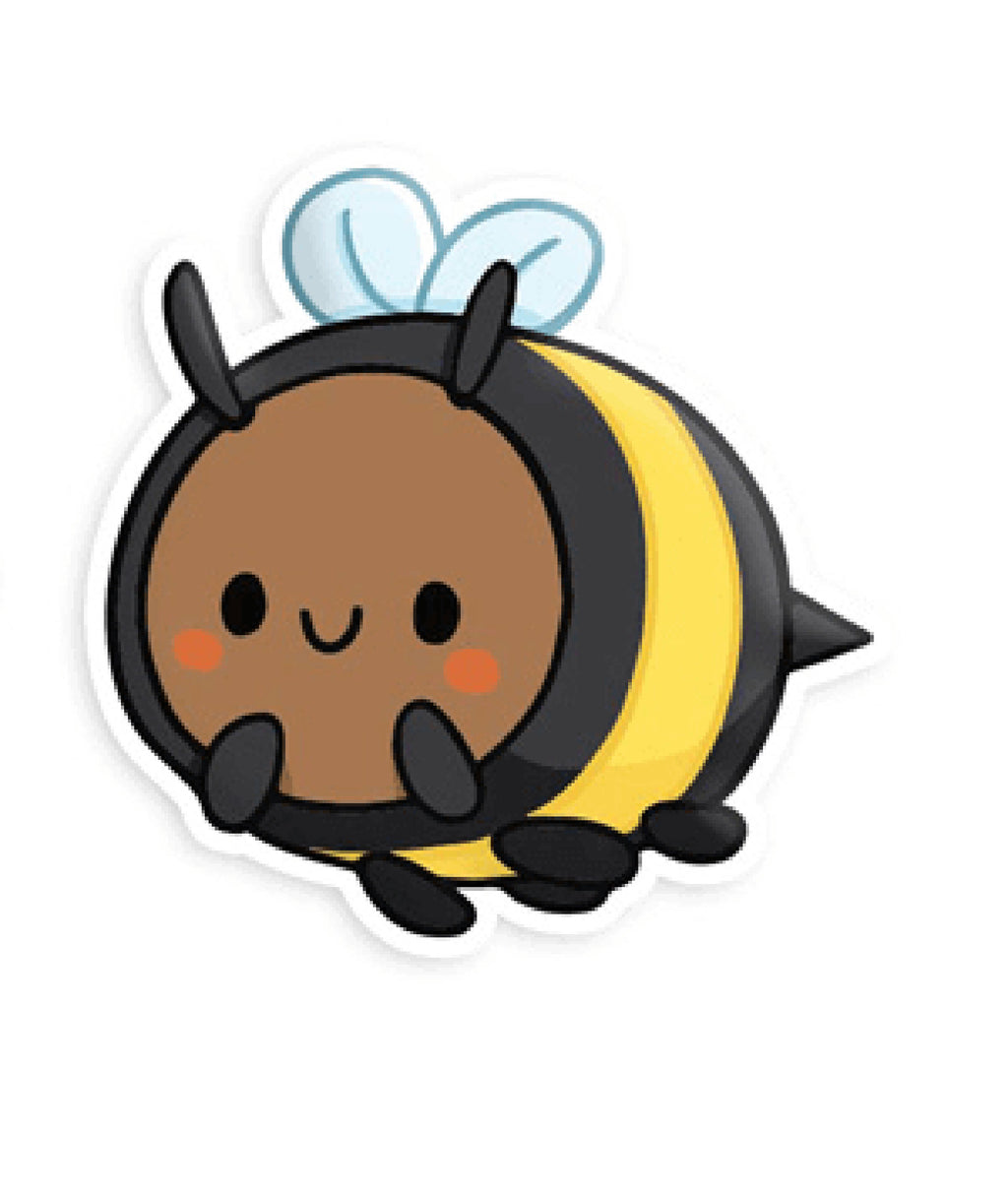 Squishable Vinyl Sticker Bumblebee