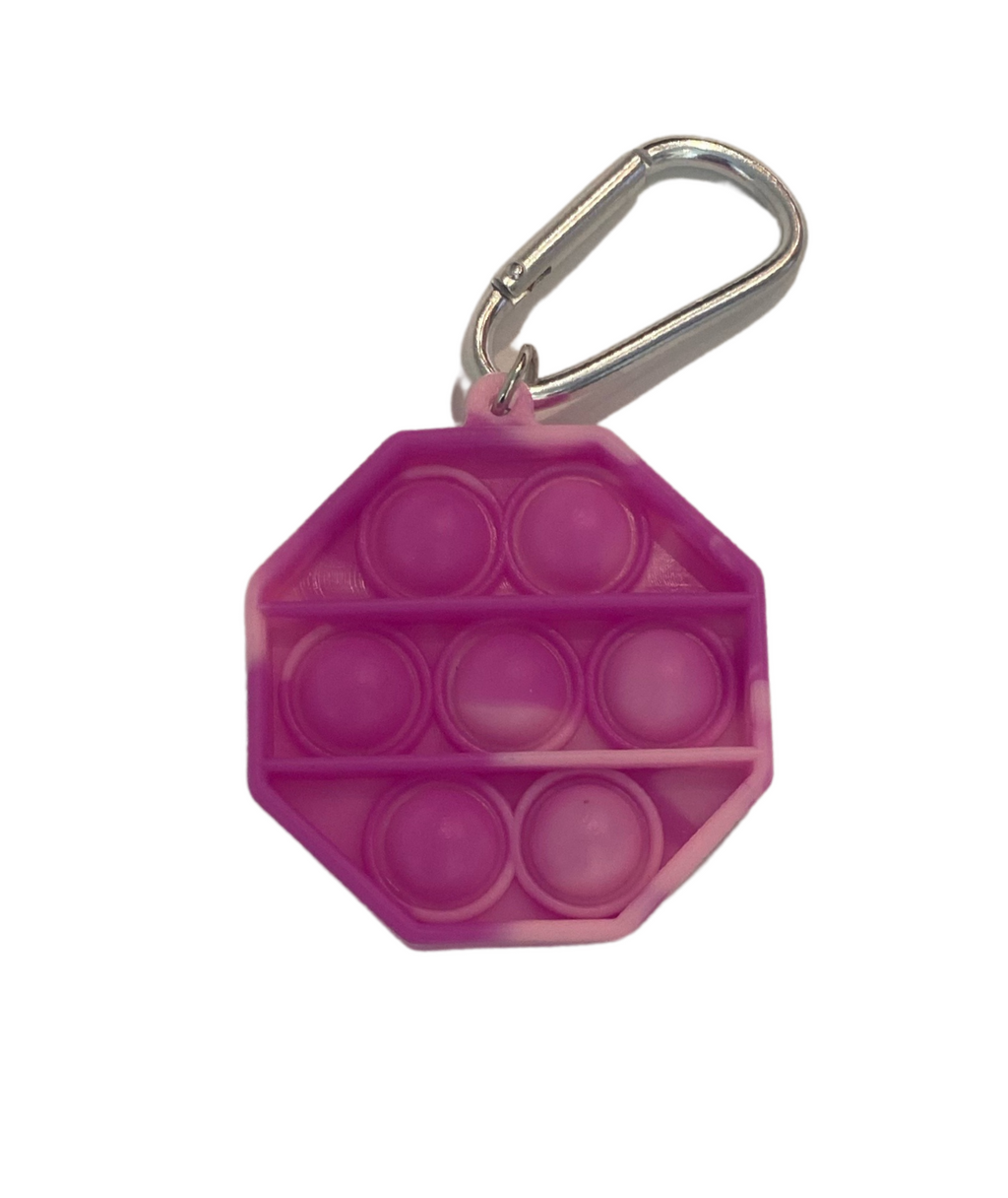 Fidget Pops Mini Key Chain Octagon