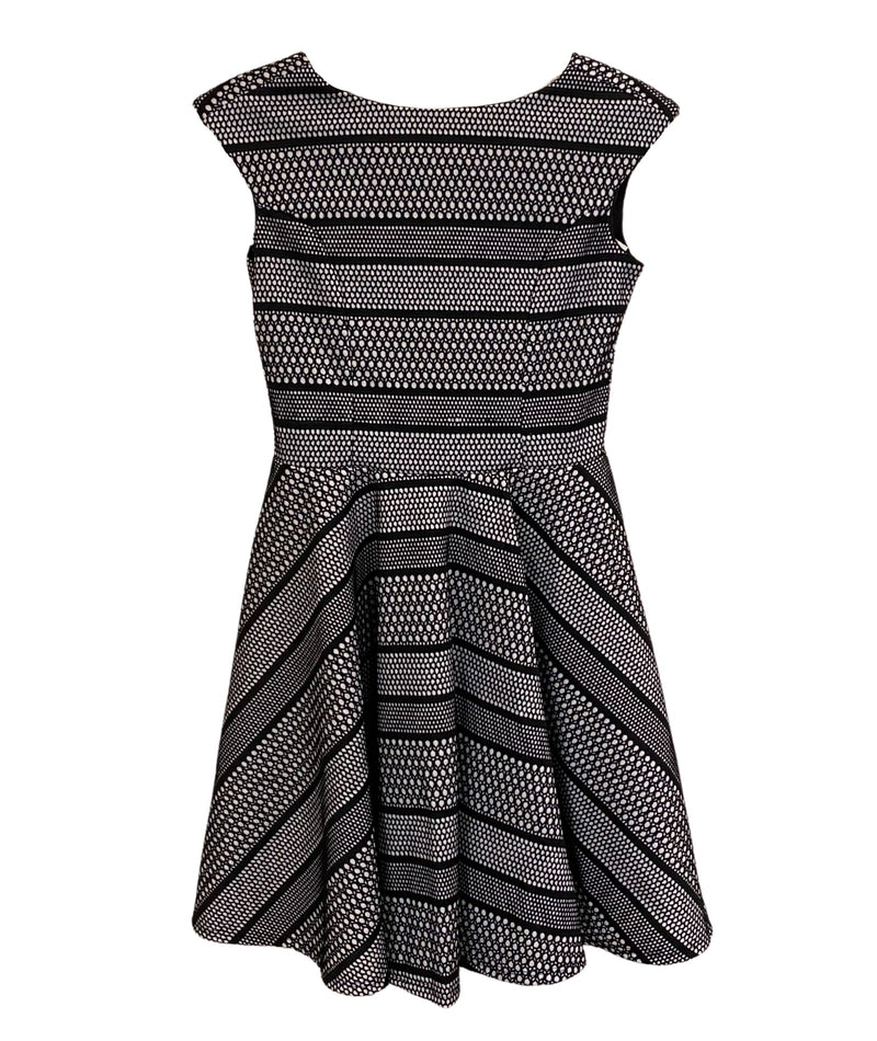 Stella M'Lia Girls Silver Bimba Dress