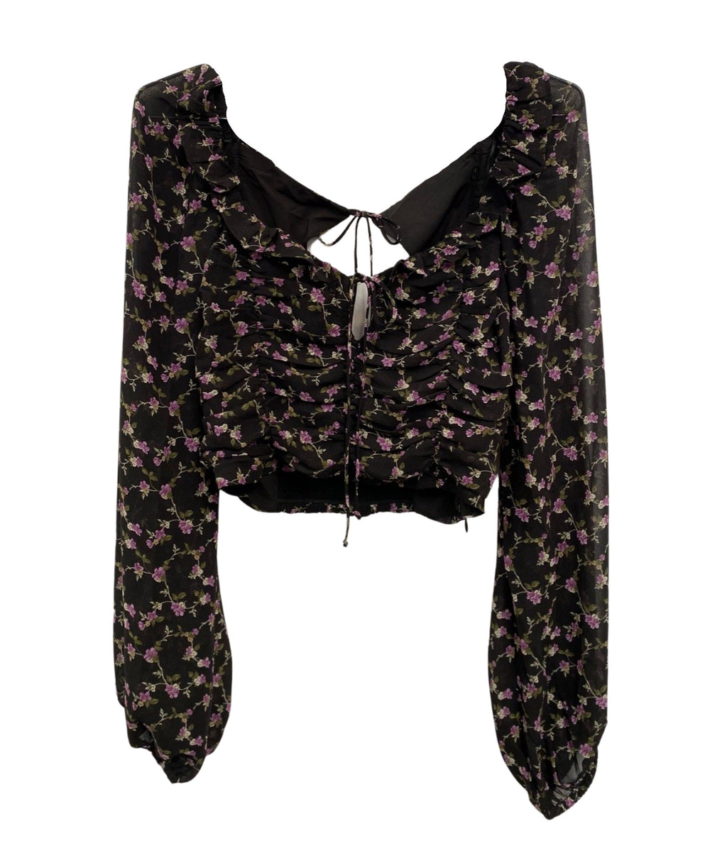 Layla Floral Long Sleeve Blouse Women