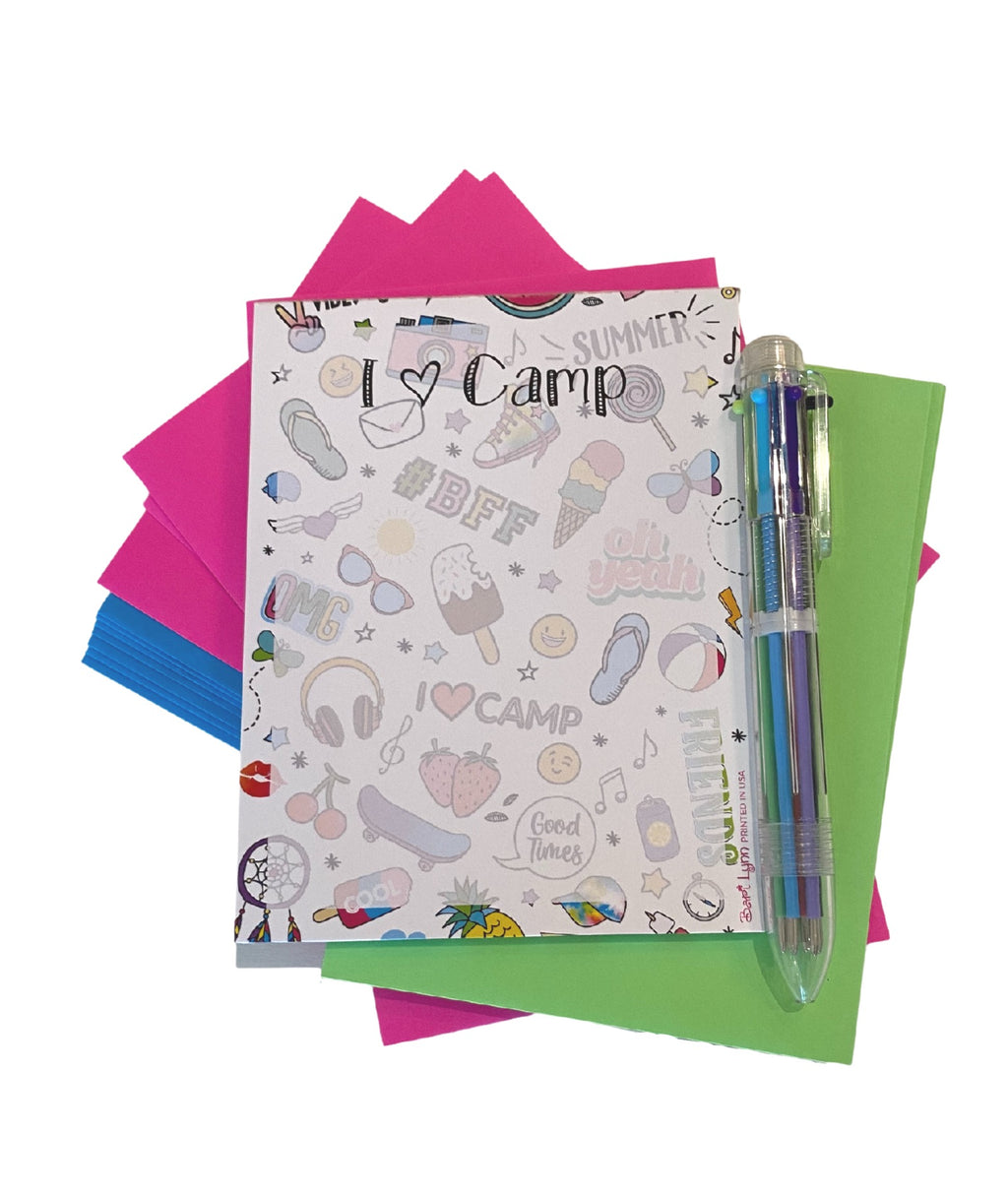 Bari Lynn Camp Stationery Small