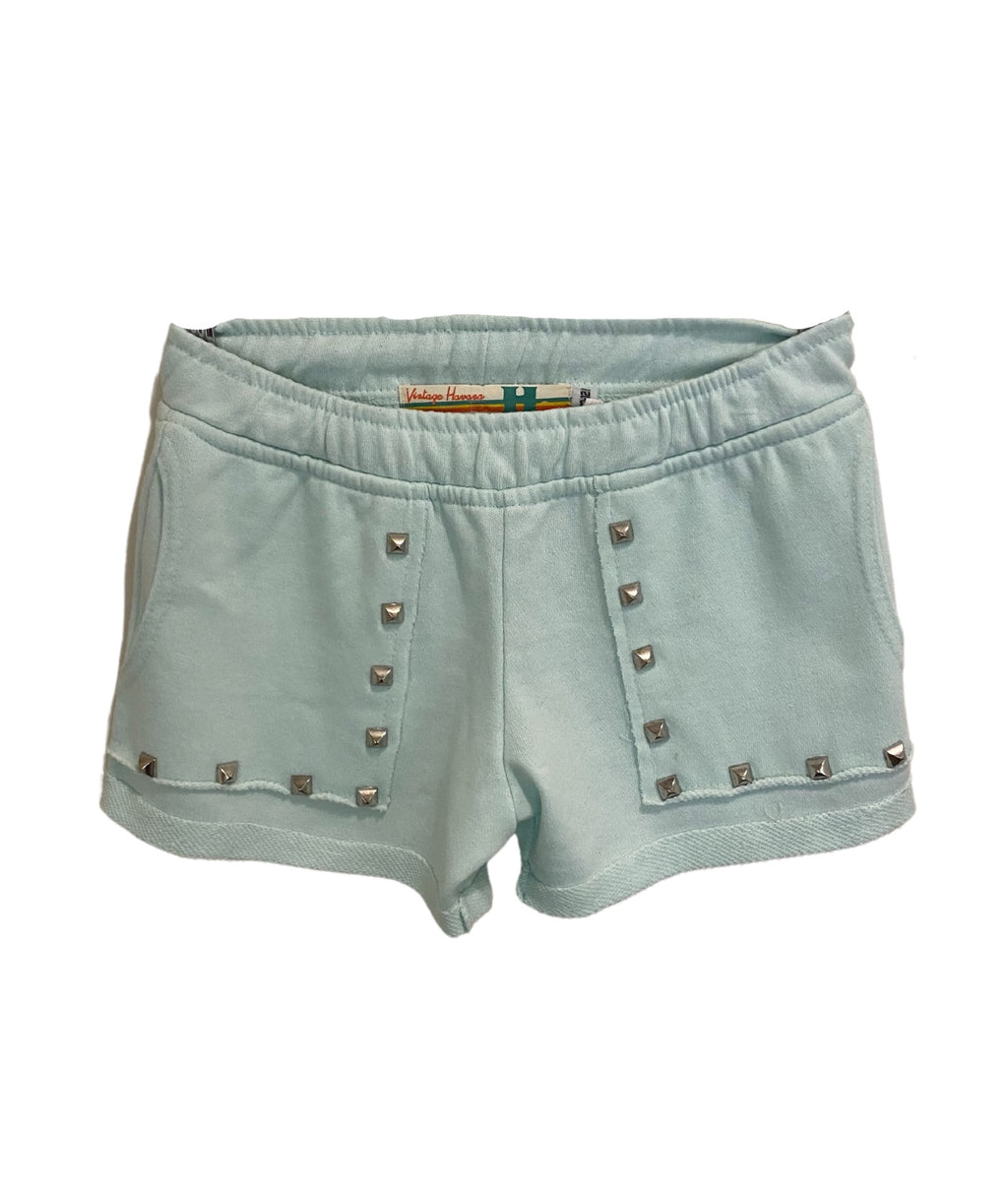 Vintage Havana Girls Mint Studded Shorts