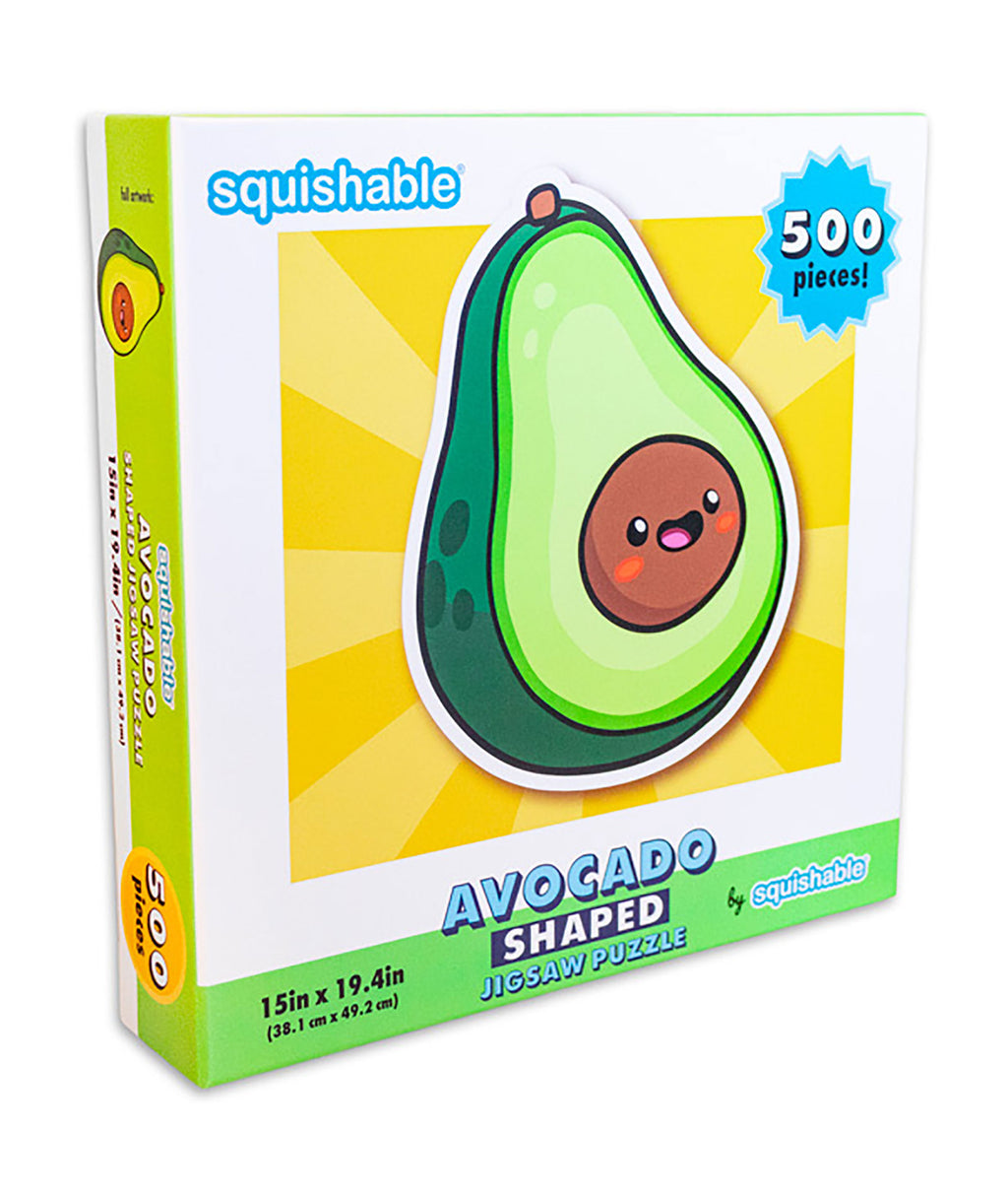 Squishable Puzzle Avocado