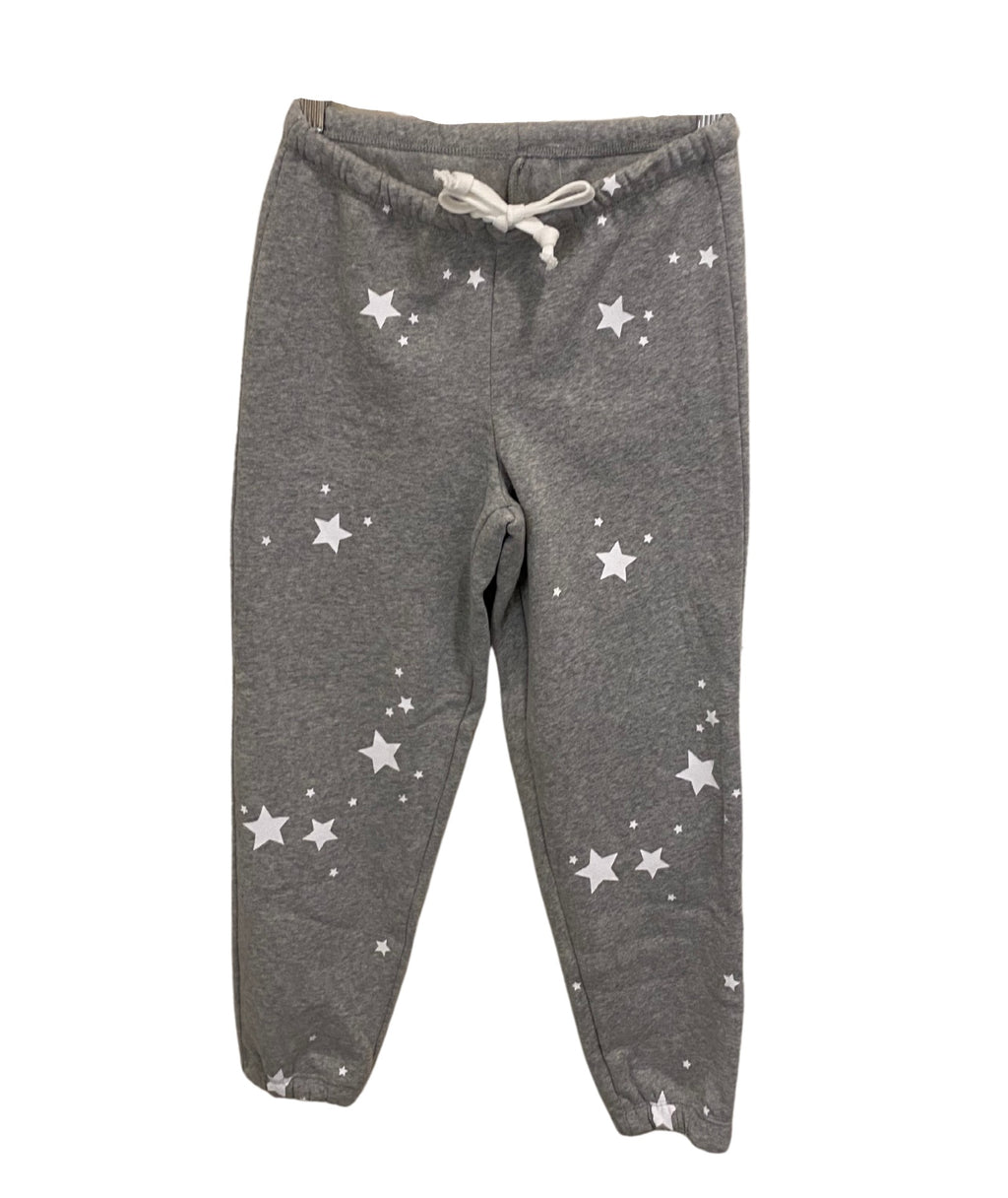 Katie J NYC Girls Faith Grey Star Sweatpants