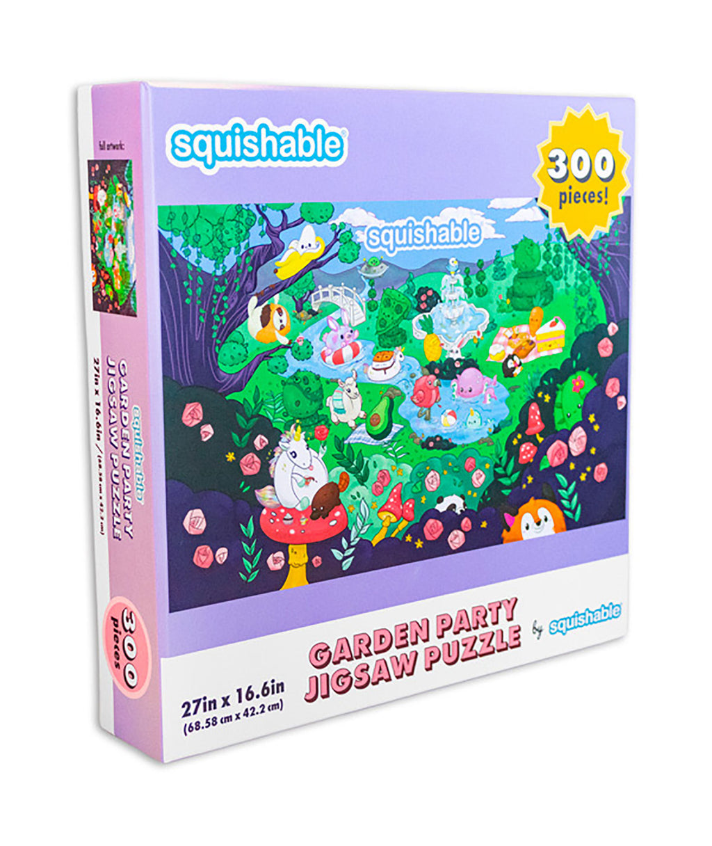 Squishable Puzzle Garden Party