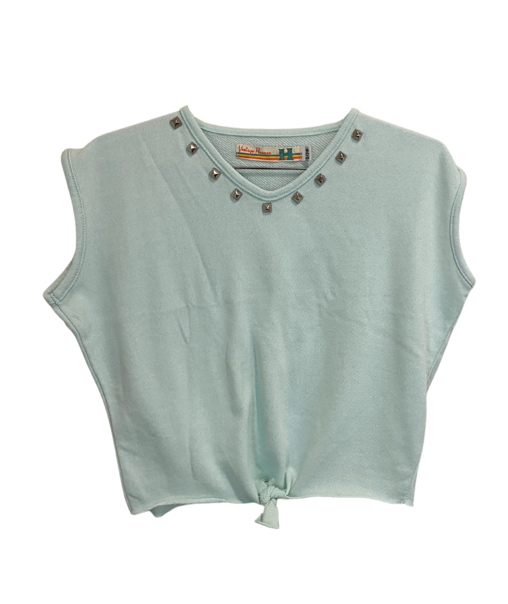 Vintage Havana Girls Mint Studded Tank