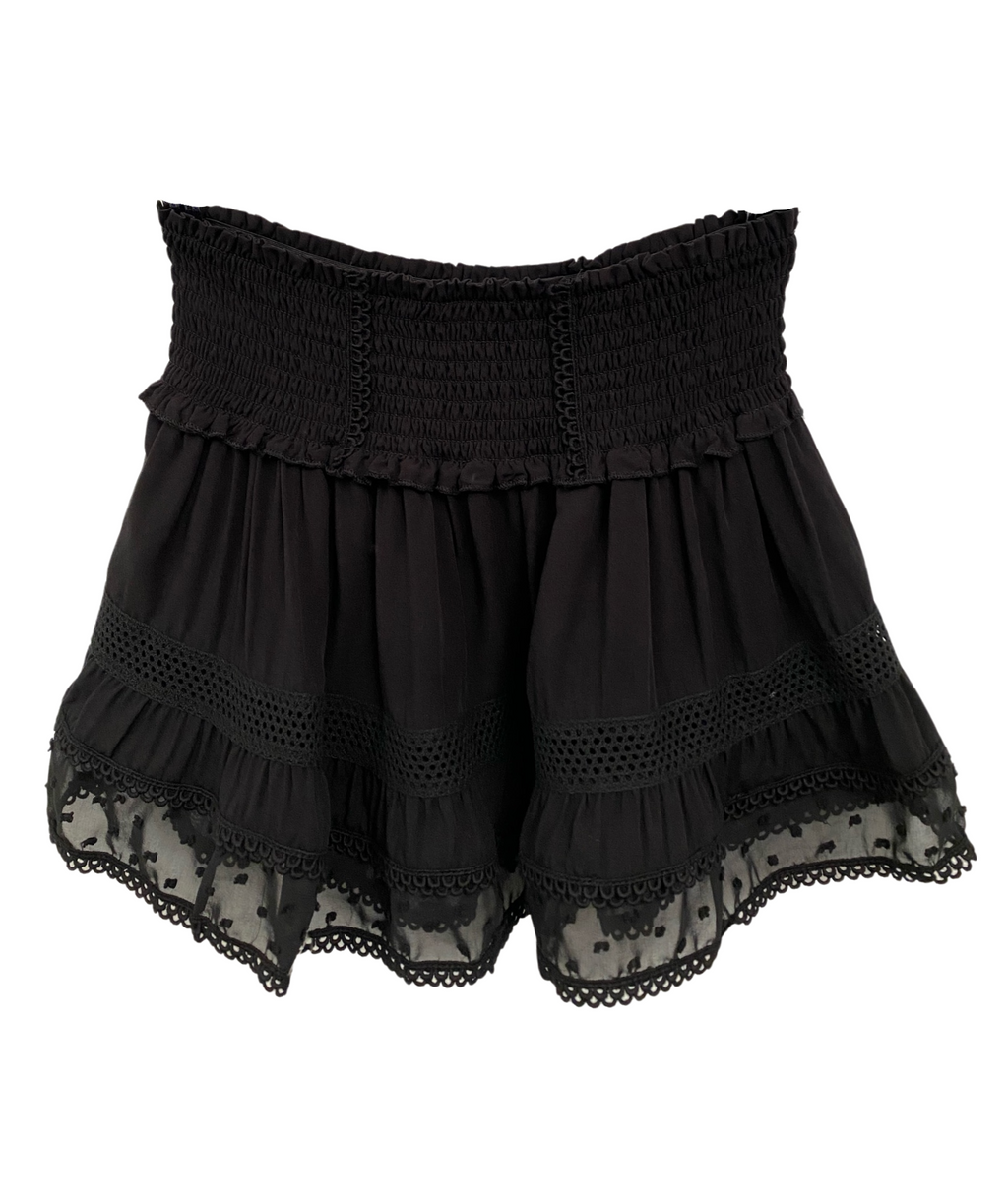Katie J NYC Girls Lara Black Skirt