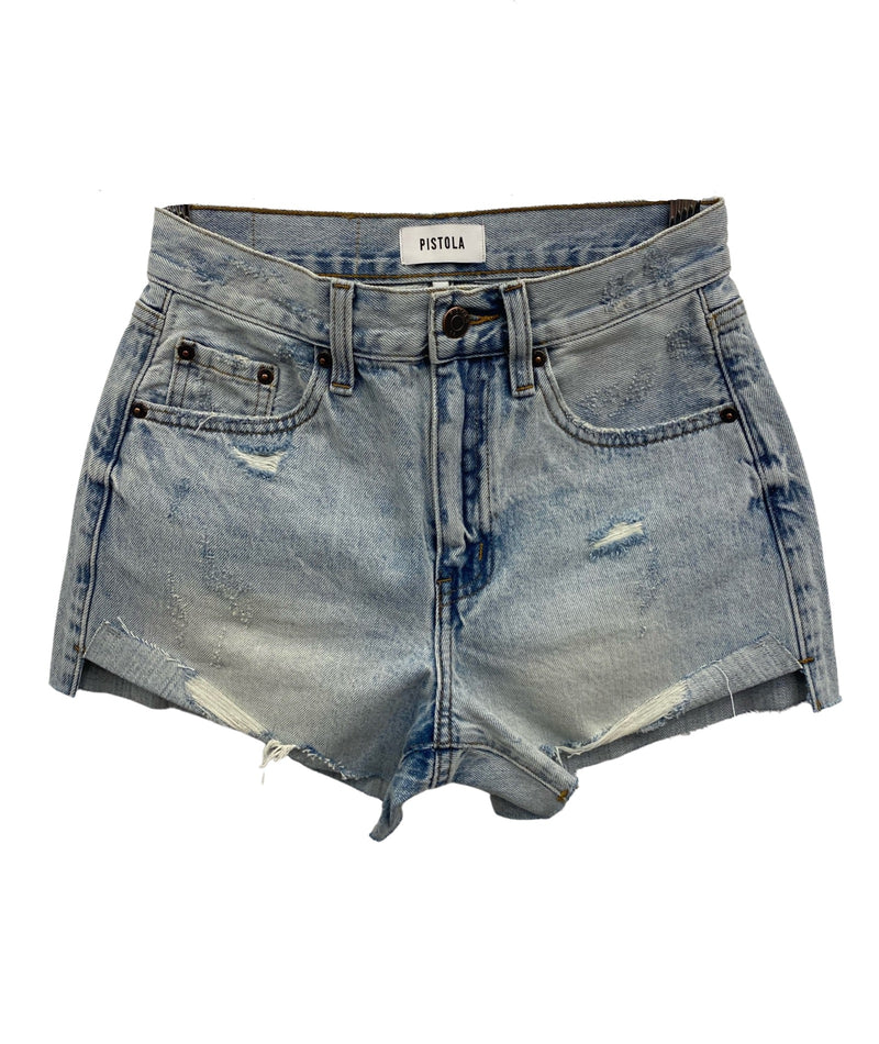 DL1961 Women Cleo High Rise Denim Shorts