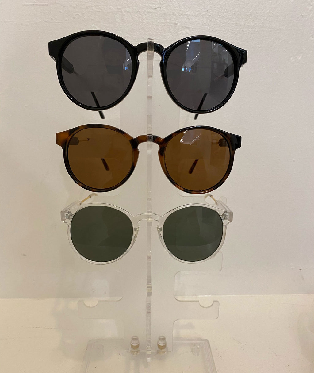 Fashionista J Aviator Round Retro Sunglasses