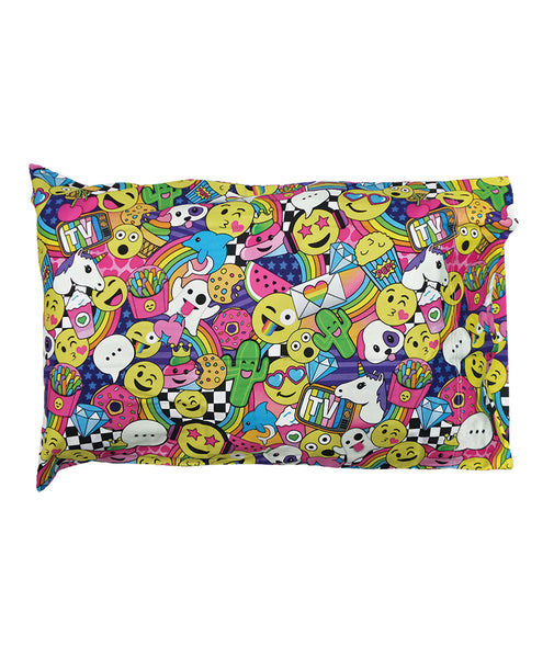 iScream Emoji Party Pillowcase Set