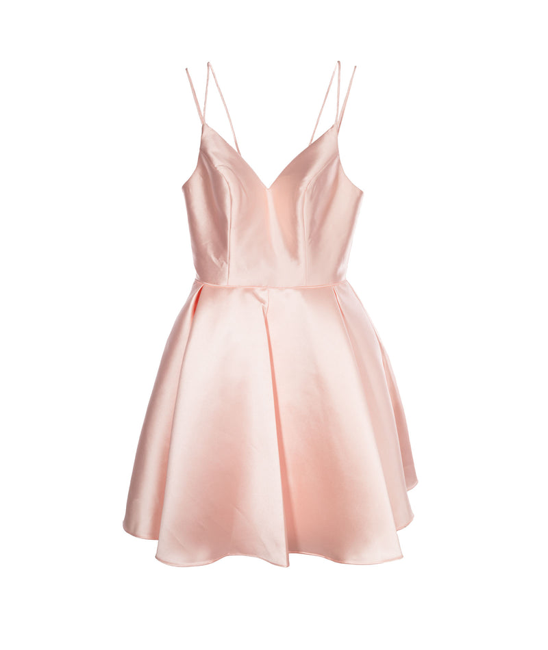 Alyce Women Pink Fit Flare French Dress