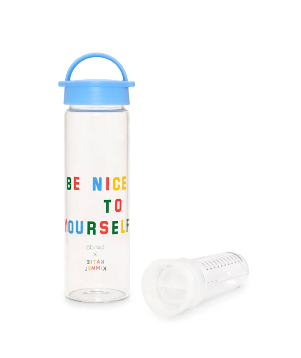 Ban.do Brighten Up Be Nice to Yourself Infuser Water Bottle