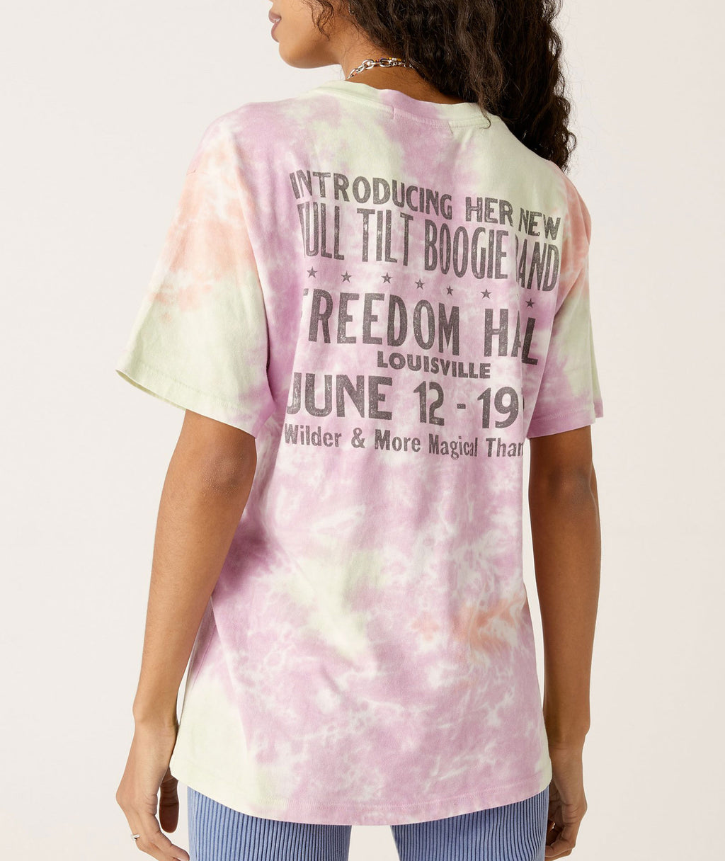 Daydreamer Women Janis Joplin Freedom Hall Tie Dye Tee