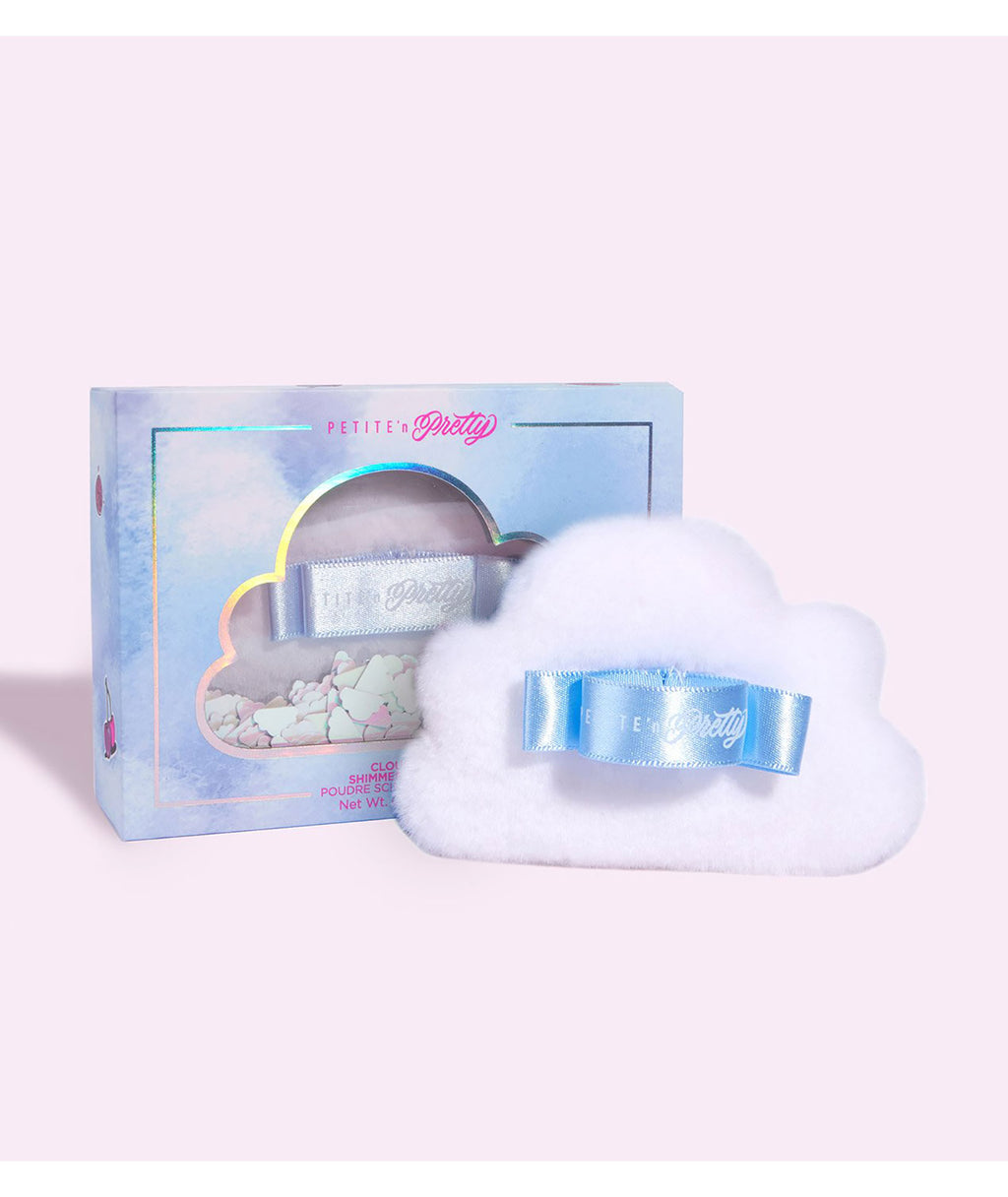 Petite 'n Pretty Cloud Fluff Shimmer Body Puff