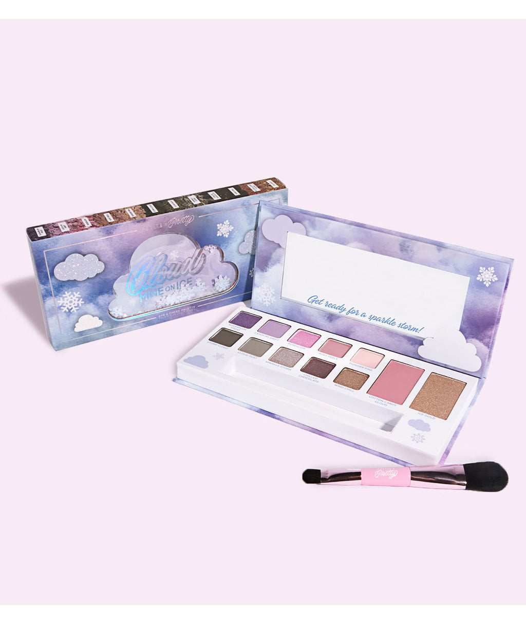 Petite 'n Pretty Cloud Mine On Ice Eye & Cheek Palette