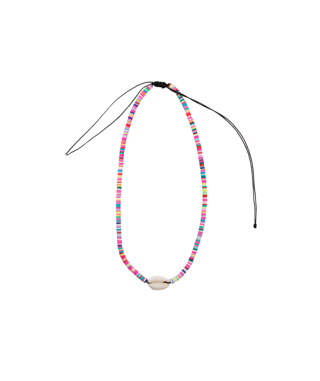 Confetti and Friends Rainbow Shell Necklace
