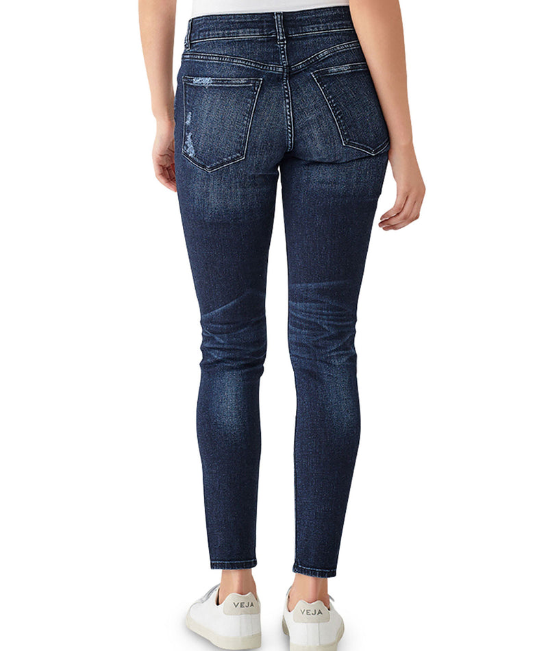 DL1961 Women Florence Ankle Mid Instasculpt Mitchell Jeans