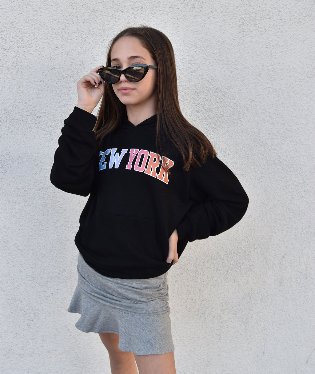 Me.n.u Girls New York Hoodie