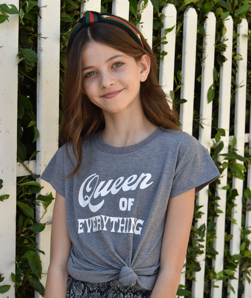 Sub_Urban Riot Girls Heather Grey Queen of Everything Tee