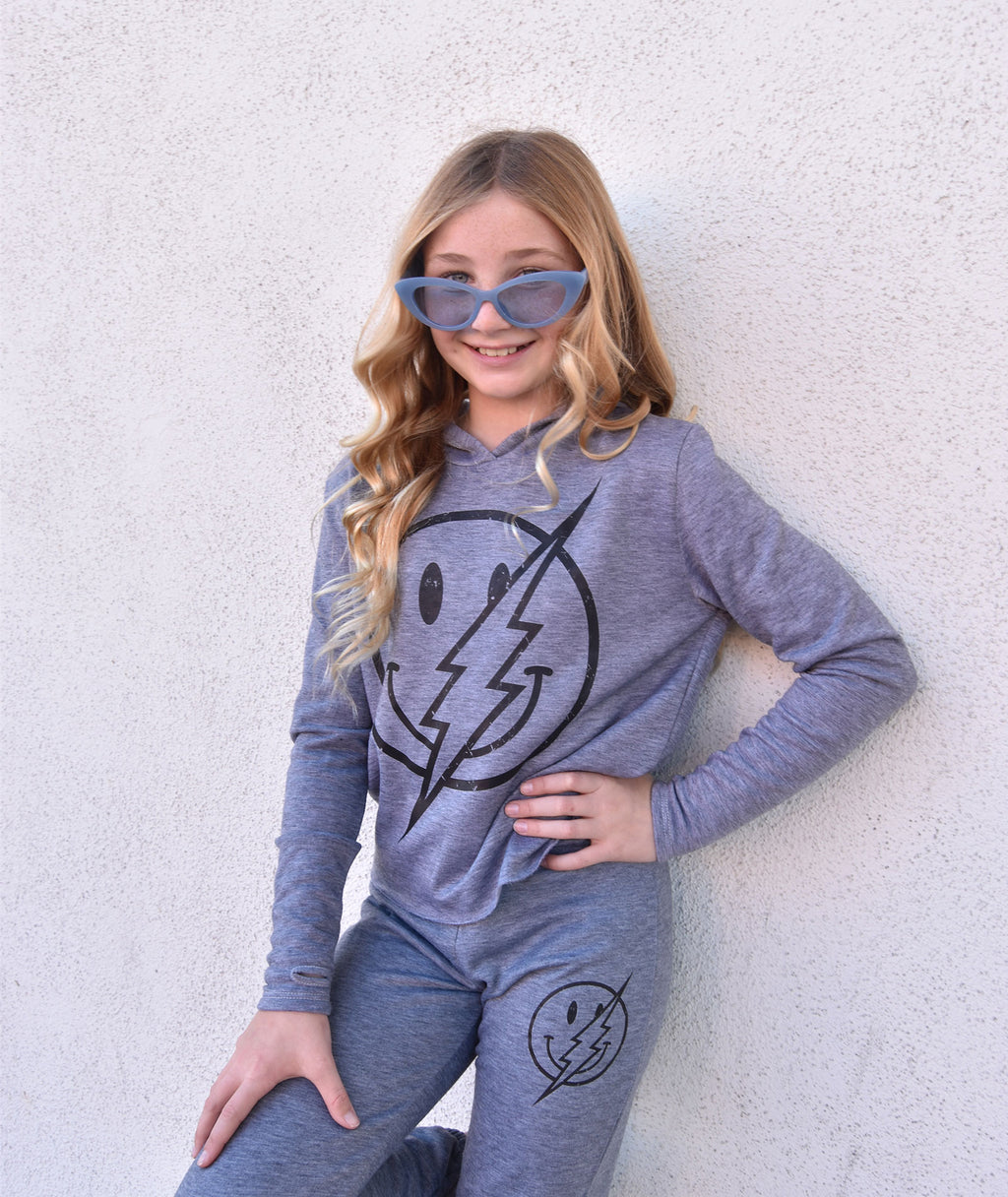 Firehouse Girls Smiley Bolt Sweatpants