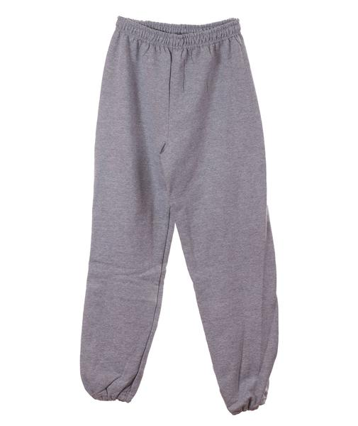 Adult Distressed Varsity Sweatpants Grey