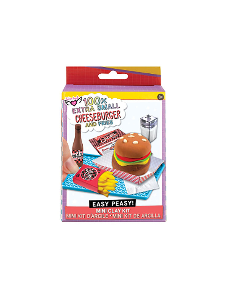Fashion Angels Mini Clay Burger and Fries Kit