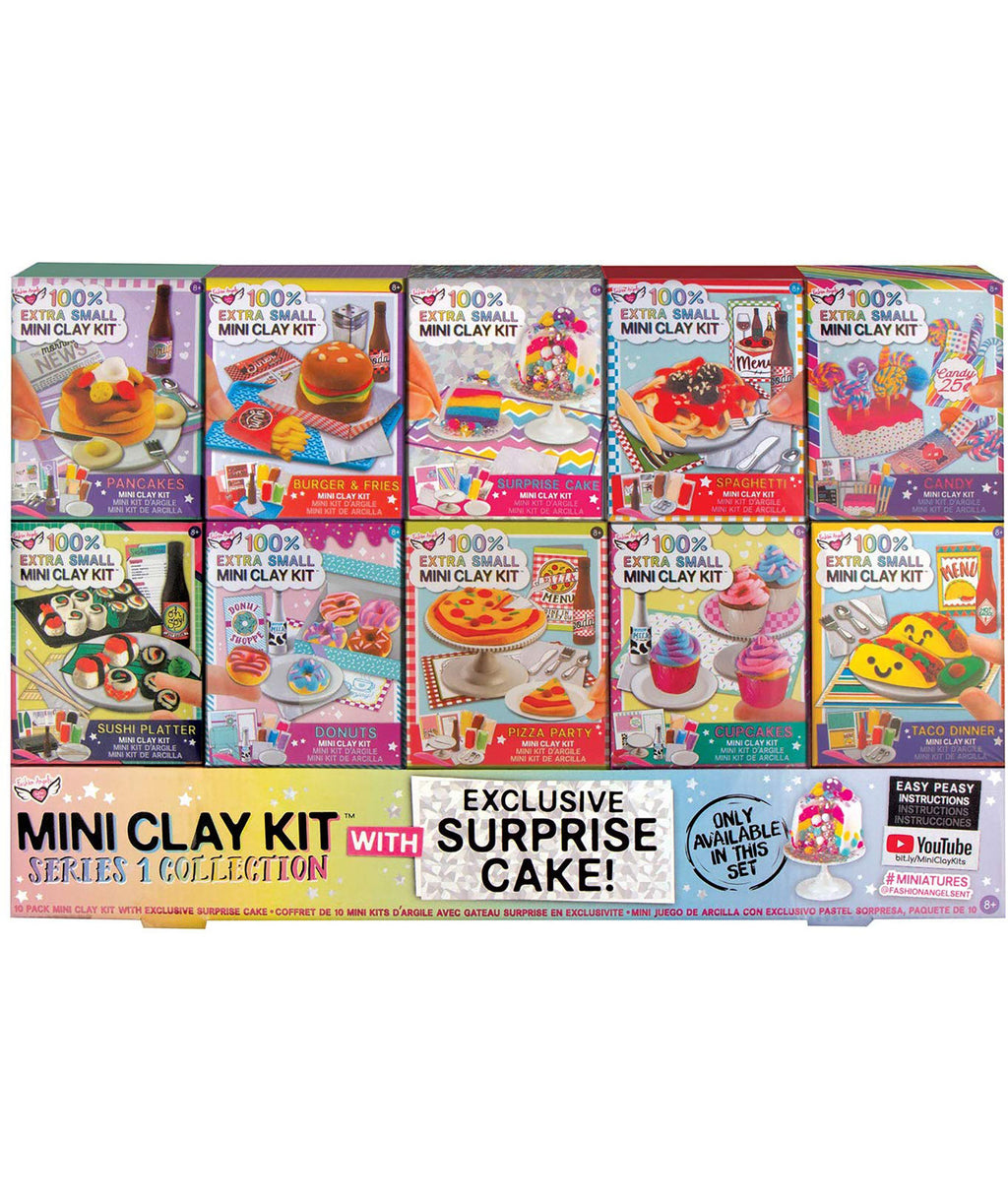 Fashion Angels Mini Clay Kit Super Set