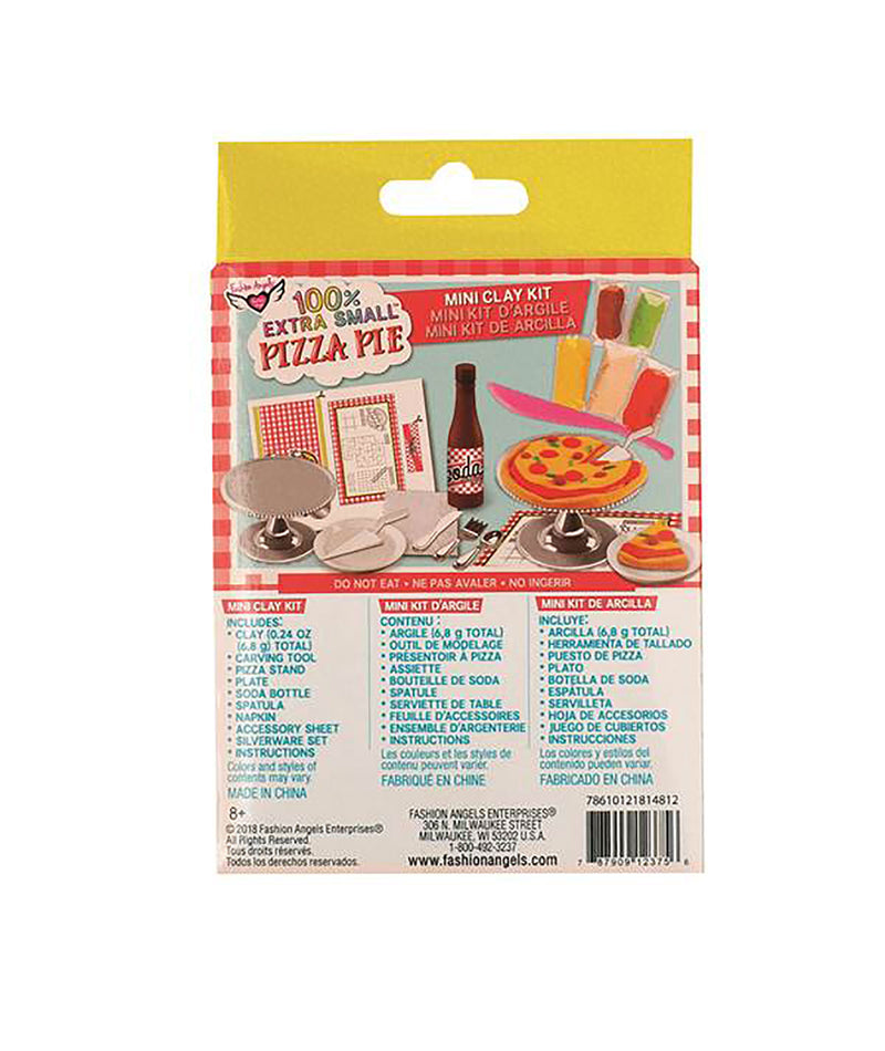 Fashion Angels Mini Pizza Pie Kit
