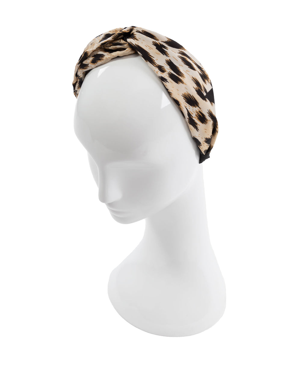 Fashionista J Cheetah Headband