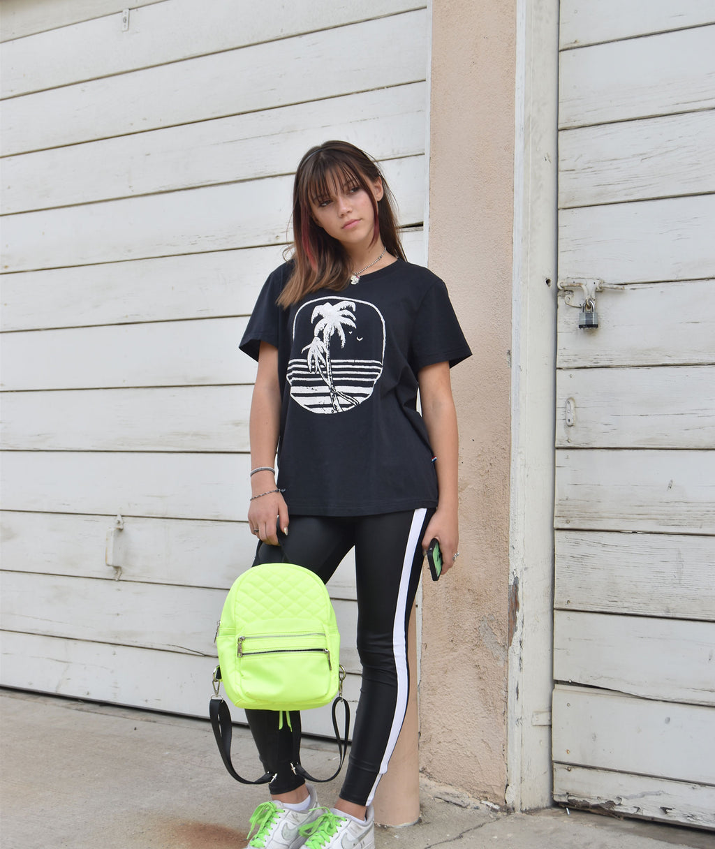 Fashionista J Neon Mini Backpack